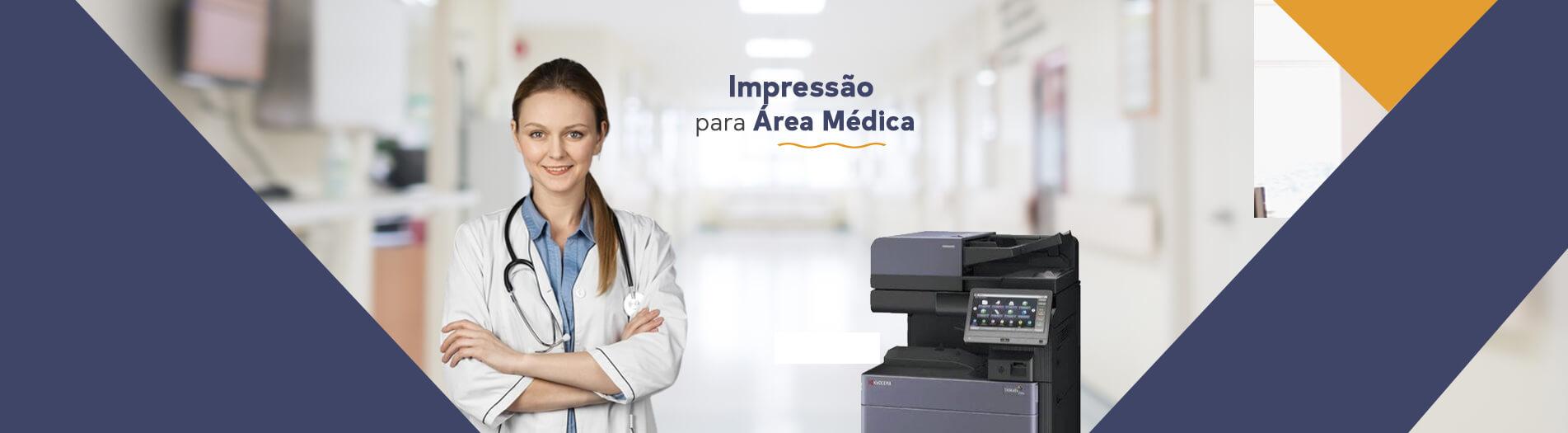 Impressão para área médica